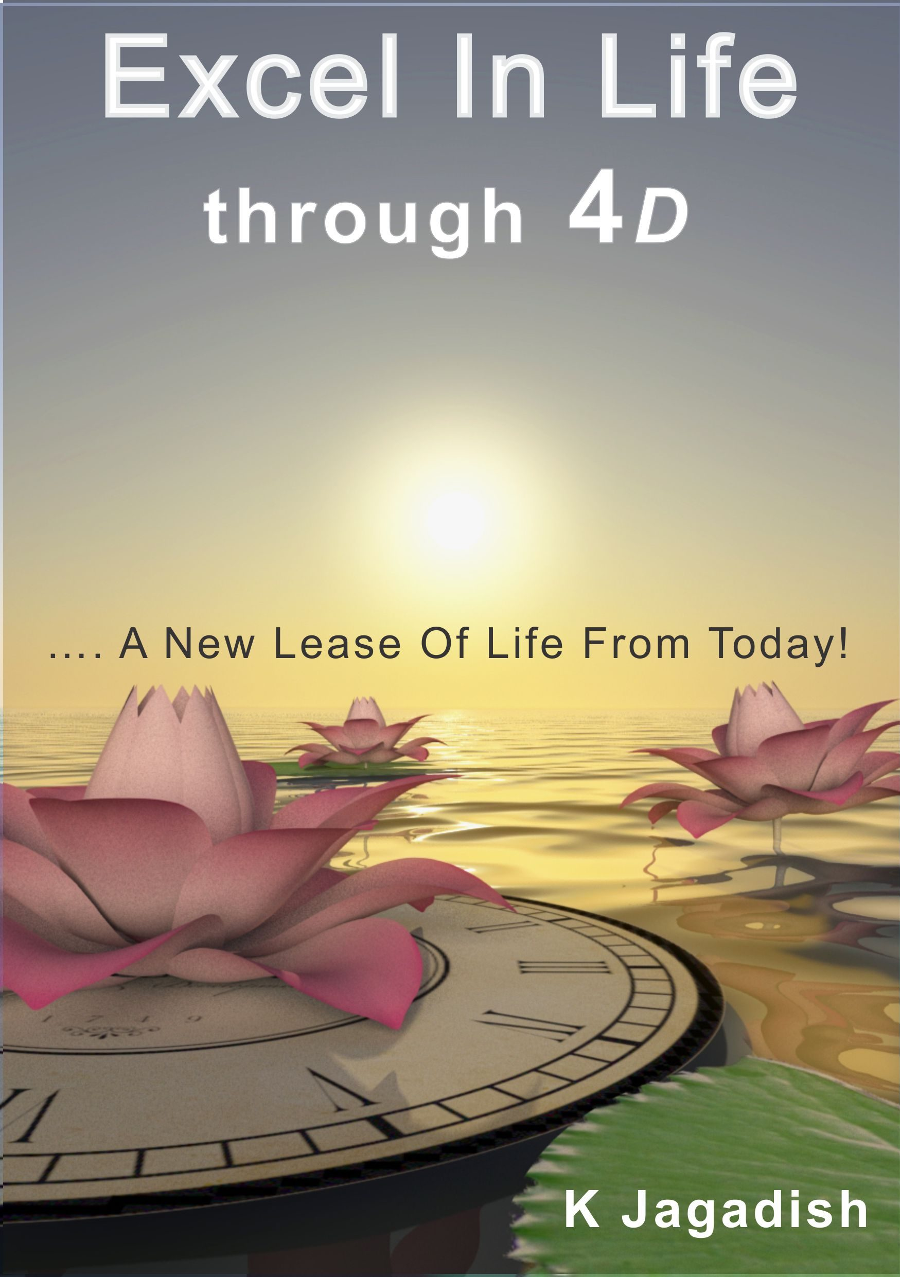Authored book excel in life through 4d